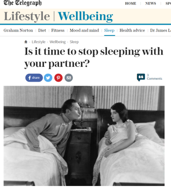 http://www.telegraph.co.uk/wellbeing/sleep/is-it-time-to-stop-sleeping-with-your-partner/