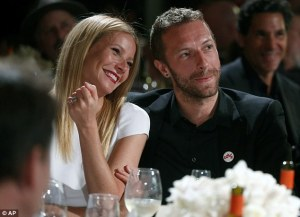 Gwyneth and Chris Martin back int he day